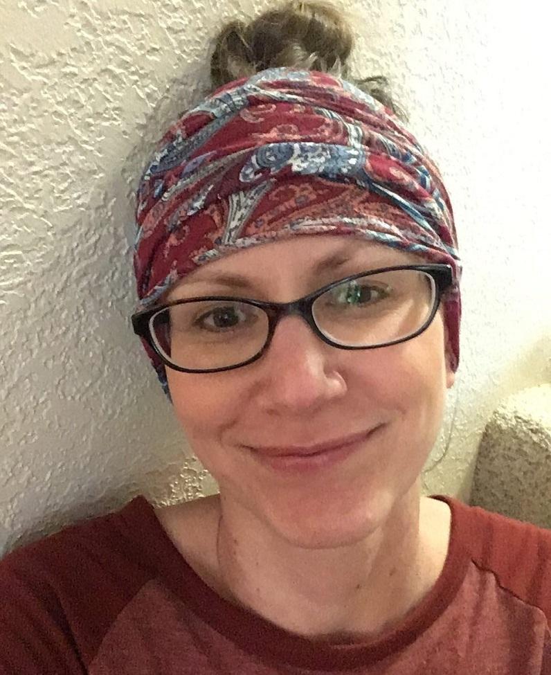 Sara Wald scarf